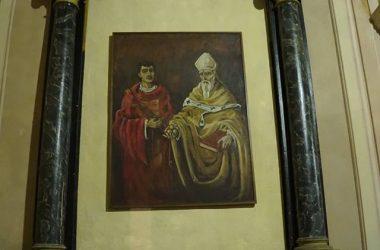 Quadro Chiesa di San Lorenzo a Barzizza Gandino