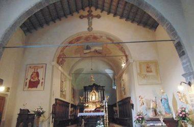 Rigosa di Algua- |Bergamo -Il Santuario della Madonna di Perello-Affreschi del XV secolo