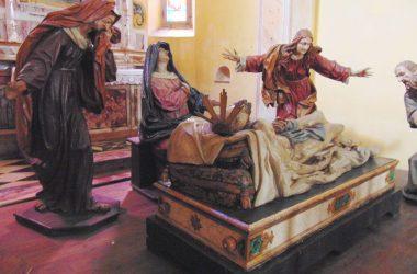 Rovetta BG La chiesetta dei Disciplini