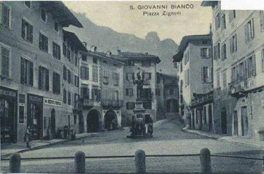 San Giovanni Bianco Piazza Zignoni