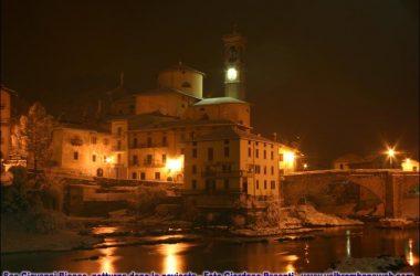 San Giovanni Bianco di sera