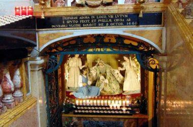 Santuario Beata Vergine del Miracolo Madonna della Gamba -Desenzano al Serio