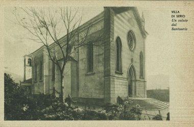 Santuario Villa di Serio anni 40