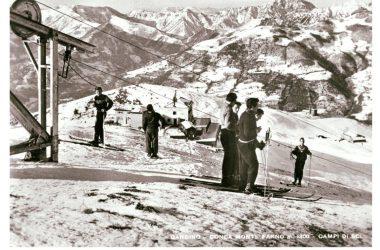 Seggiovia del monte Farno Gandino Immagini storiche