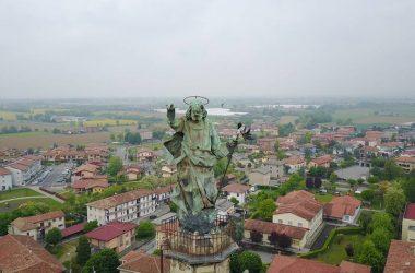 Statua chiesa Calcinate