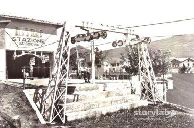 Stazione d'arrivo della seggiovia Monte Farno Gandino