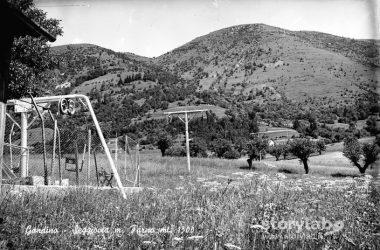 Stazione d'arrivo della seggiovia Monte Farno Gandino Bg