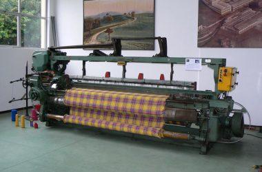 Telaio SMIT Museo del Tessile Leffe