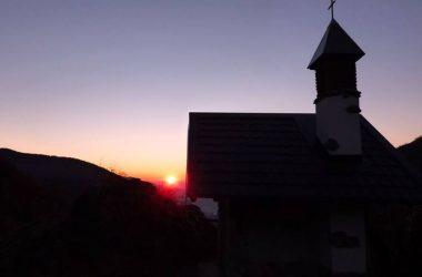 Tramonto Chiesetta di Valpiana - Gandino