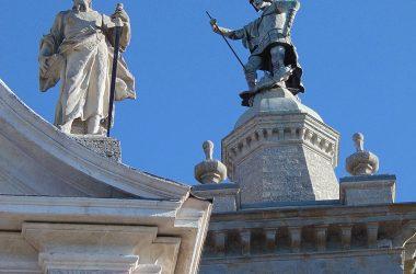 Treviolo - Bergamo- chiesa parrocchiale di San Giorgio martire