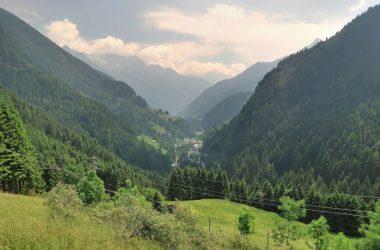 Valleve dalle montagne
