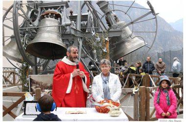 Valnegra benedizione degli ulivi e campane