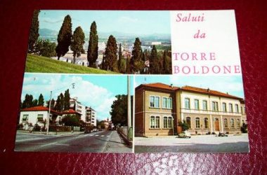 Vecchia Cartolina Torre Boldone