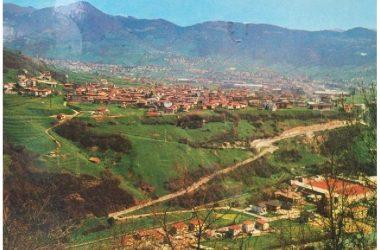 Vecchio panorama di Casnigo