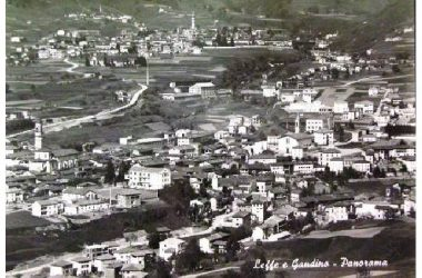 Veduta storica Leffe Gandino