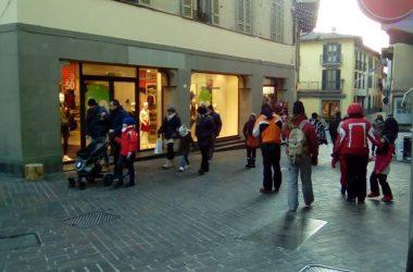 Via centrale di Clusone
