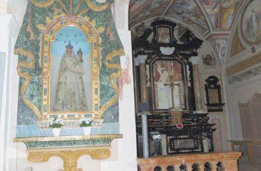 Villa di Serio BG il santuario di santa Maria dei Campi Bg