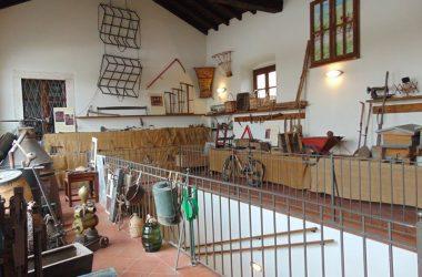 Villa di Serio museo sala della Tinaia