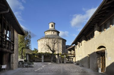 Vista La Rotonda di San Tomè - Almenno San Bartolomeo