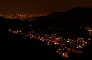 Vista Valgandino da Valpiana - Gandino