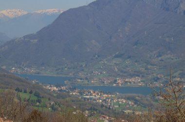 Vista dal Santuario del Colle Gallo - Gaverina Terme