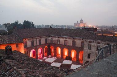 Vista dalla Torre Castello Silvestri Calcio