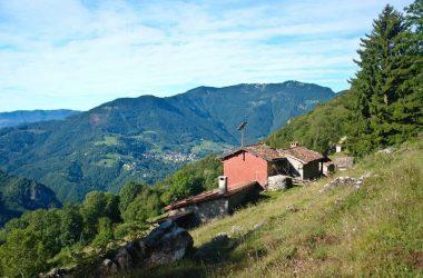 Vista peghera da Cantiglio San Giovanni Bianco