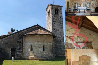 chiesa di San Giorgio in Campis a Zandobbio