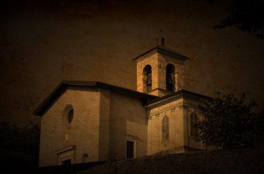 chiesetta della Madonna Addolorata al colle Niardo Trescore Balneario