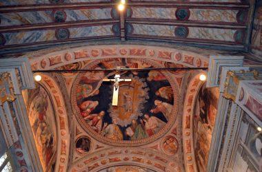 crocifisso Chiesa di San Bernardino - Lallio