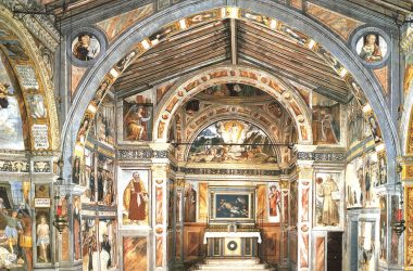 dipinti nella Chiesa di San Bernardino - Lallio