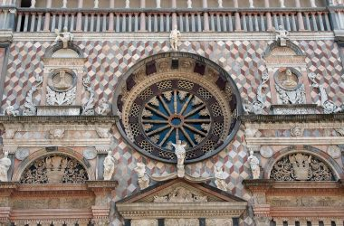 facciata cappella colleoni bergamo citta alta
