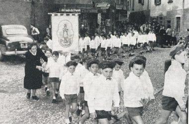 i ragazzi dell'Azione Cattolica 1964 Leffe
