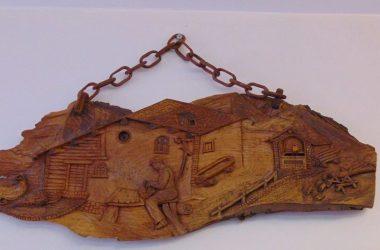 intagliatori su legno ...Santa Brigida