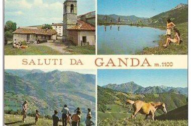 vecchia cartolina di AVIATICO - GANDA