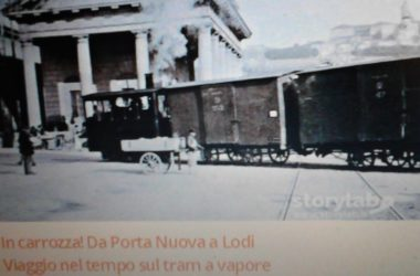 Carrozza verso Lodi da Casirate d'Adda