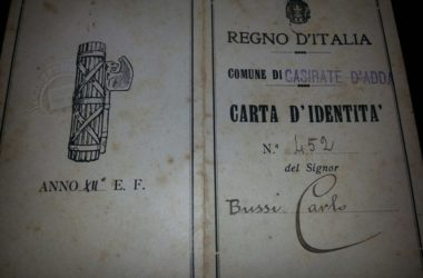 Carta identità storica Casirate d'Adda