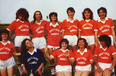 Casirate d'Adda Calcio Femminile anni 80