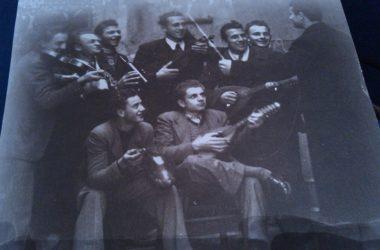 Giovani musicisti anni 40 Casirate d'Adda