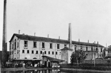 La filanda Fotografia storica Casirate d'Adda