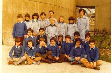 5 elementare 1978 anno fatto al vecchio oratorio Castro
