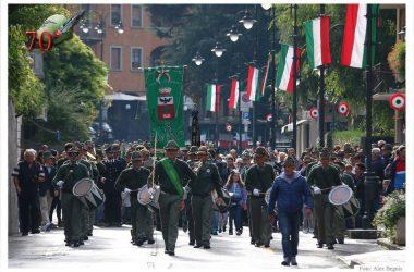70° Anniversario Fondazione Gruppo Alpini F.lli Calvi Piazza Brembana
