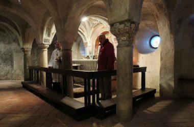 ALMENNO SAN SALVATORE Madonna del Castello - cripta