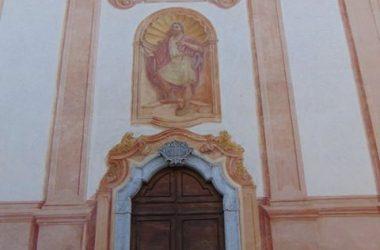 AVERARA Bergamo chiesa parrocchiale, dedicata a San Giacomo