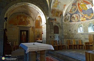 Abbazia di Fontanella abside centrale e di sinistra