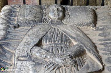 Abbazia di Fontanella di Sotto il Monte Presunta effigie di Teoperga
