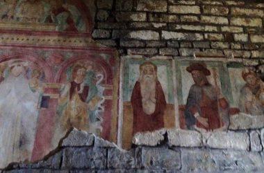 Affreschi Abbazia di Sant'Egidio, Fontanella, Sotto il Monte, Bg