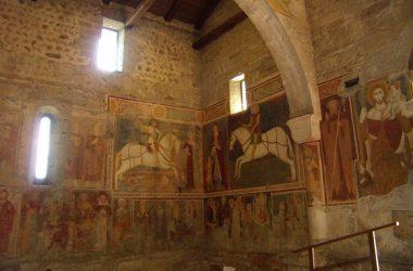 Affreschi Chiesa di San Giorgio in Lemine Almenno San Salvatore