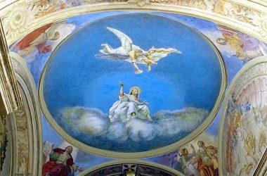 Affreschi Chiesa di San Giovanni Battista a Sogno - Torre de Busi