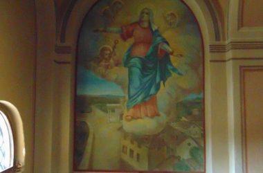 Affreschi Chiesetta Madonna di Fatima a Marne - Filago
